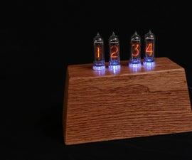 Nixie Tube Clock W/ Arduino Mega