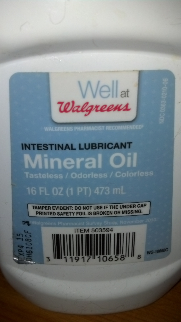 Picture of Mineral Oil