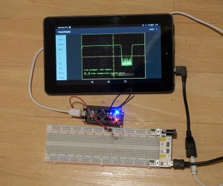 Tablet/Phone As Arduino Screen, and a $2 Oscilloscope