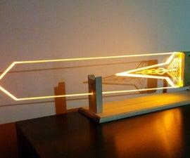 DOTA2 glowing Radiance sword