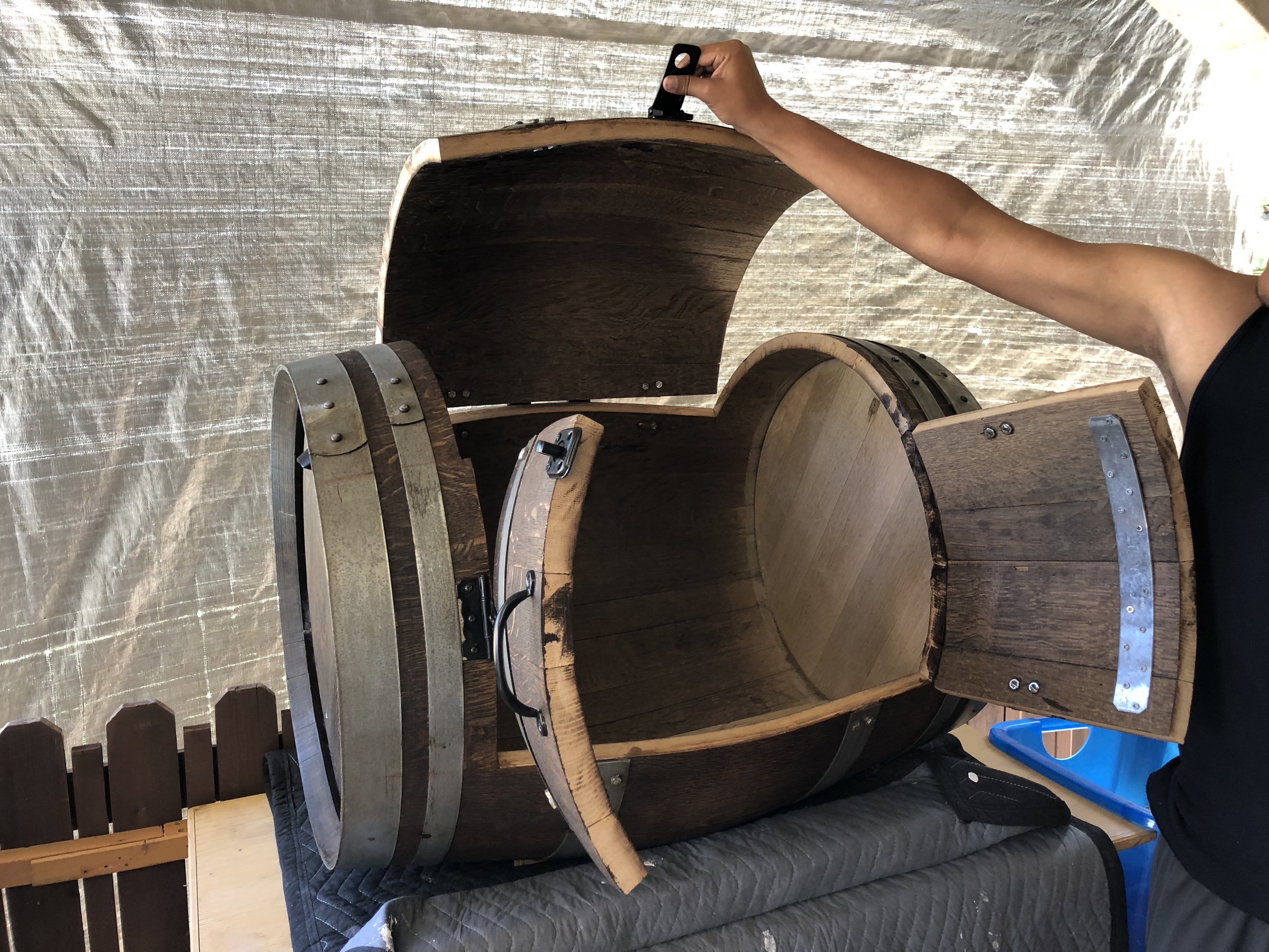 Picture of Wine Barrel Wardrobe