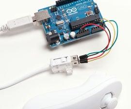 Arduino Wii Nunchuck controller