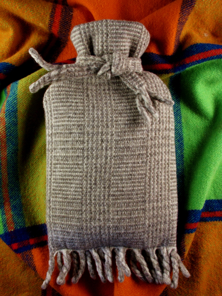 Picture of Lovely Hot Waterbottle Cover From an Old Woollen Scarf