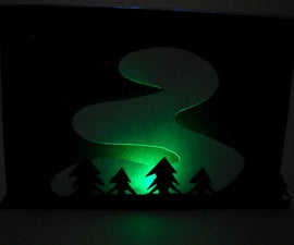 Northern Lights Papercraft