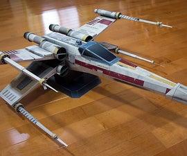 Starfighter-X Star Wars Inspired Paper Model