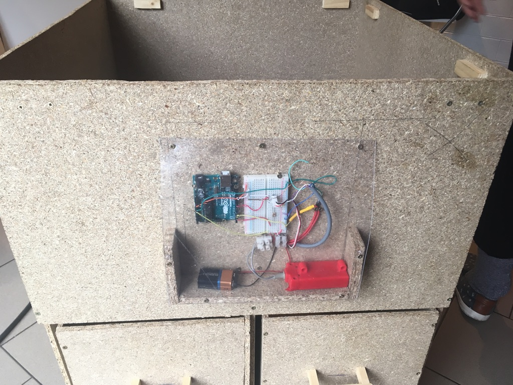 Picture of Setting Up of the Arduino and Others Electronic Components