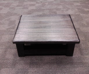Mortise and Tenon Foot Stool