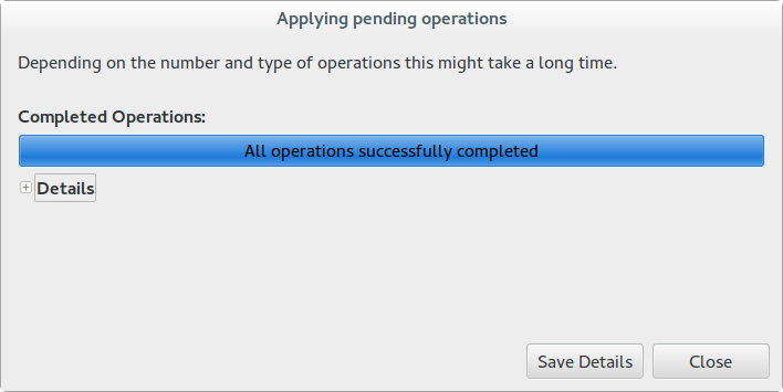Picture of Resizing Partitions