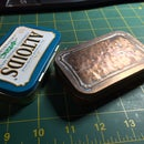 Copper plated, Domed Altoids Box