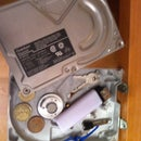 Hard drive shelf