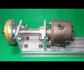 DIY Jaw Chuck for Homemade Wood Metal Mini Mill Lathe