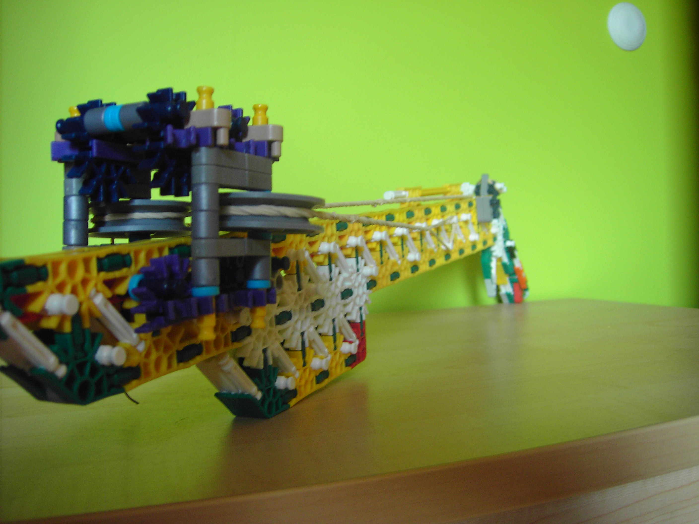 Picture of My Most Powerfull Knex Gun EVER MADE !!! 120ft+ !!