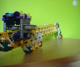 My Most Powerfull Knex Gun EVER MADE !!! 120ft+ !!