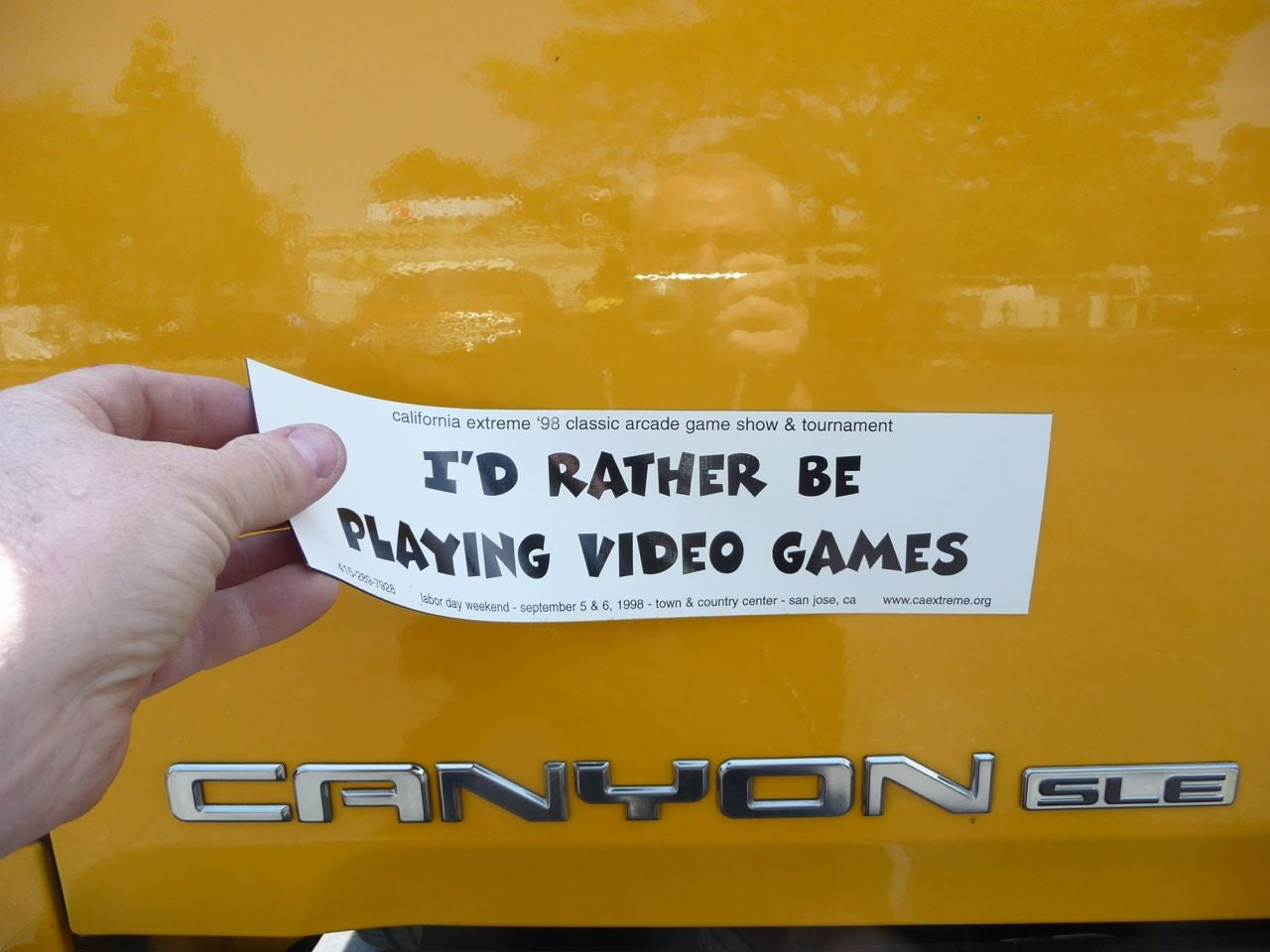 Removable custom bumper stickers
