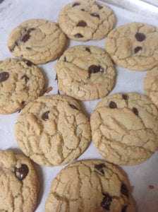 Coconut Butter Chocolate Chip Cookies