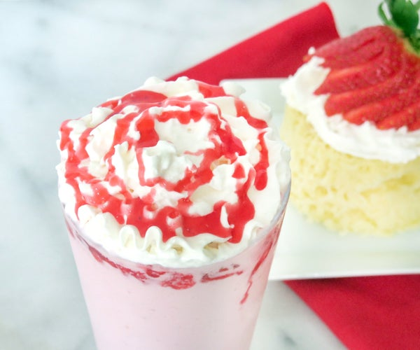 Strawberry Shortcake Frappuccino Recipe