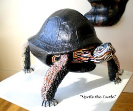 "The making of ""Myrtle the Turtle"""