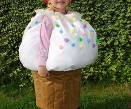 Cupcake Costume with a Cherry on Top