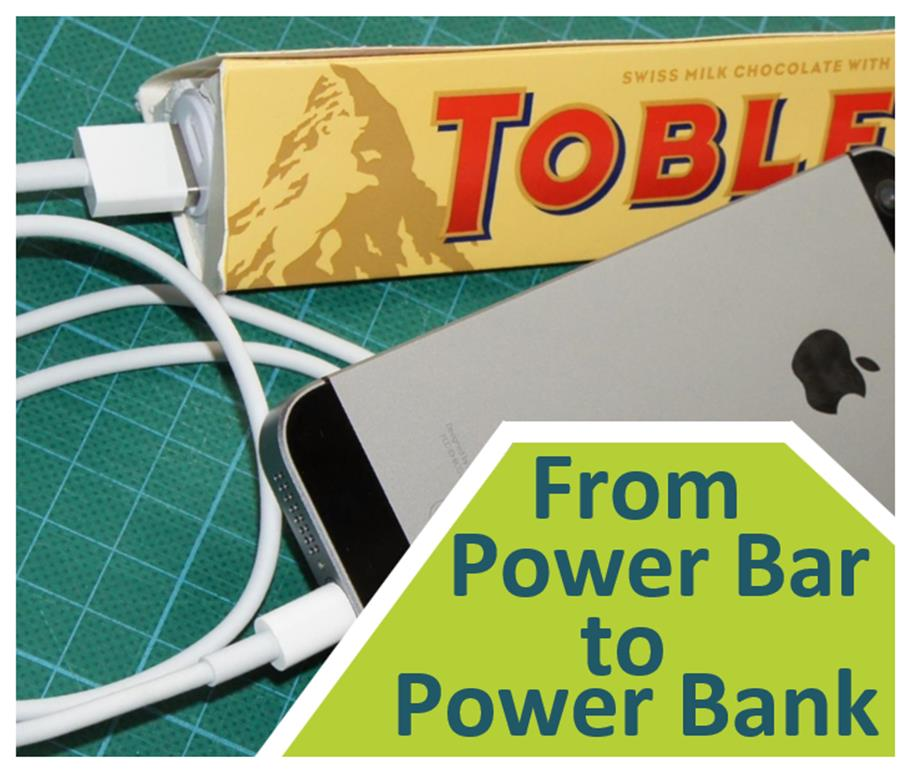 Picture of From Power Bar to Power Bank