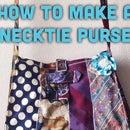 Necktie Purse