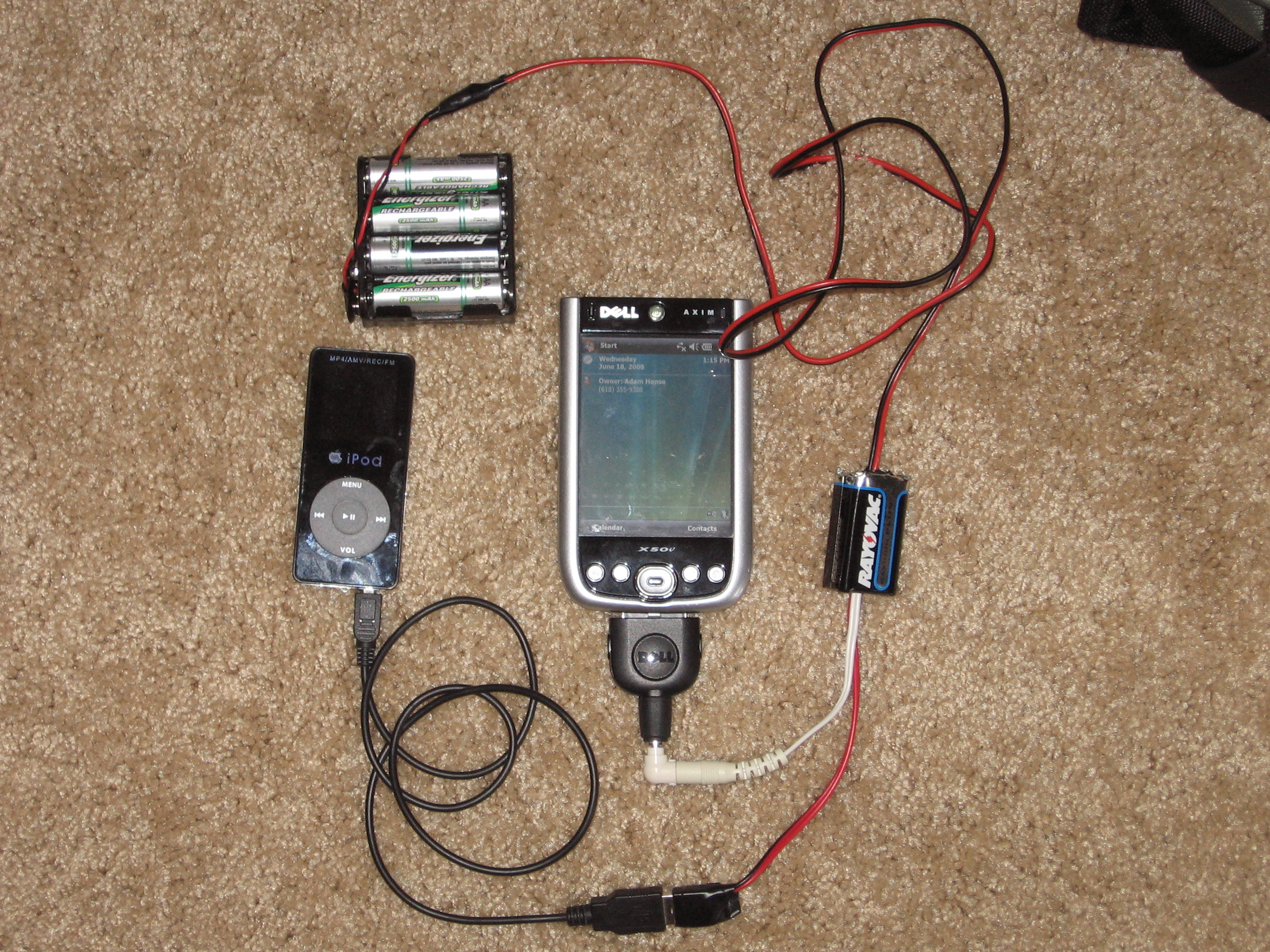 Picture of Ultimate Portable Power Source: Axim, PSP, and USB All-in-one Charger