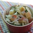 Watermelon Rind Pickle Salad