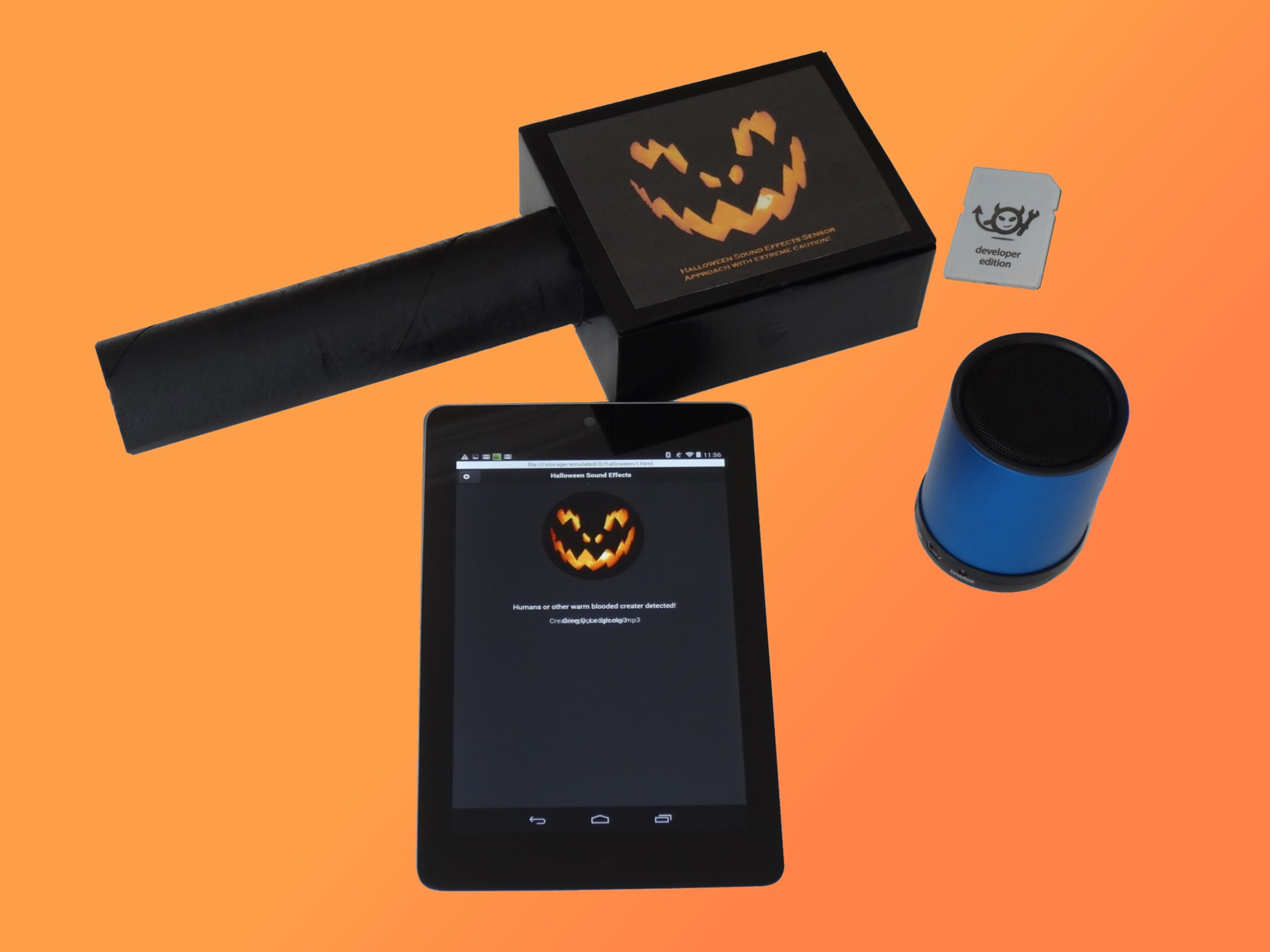 Picture of Wireless Halloween Sound Effects