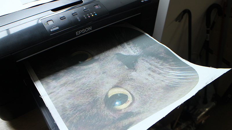 Picture of How to Print Fabric at Home