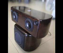 Diy Bluetooth Speaker With Subwoofer
