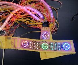 Colorful LED Headpiece
