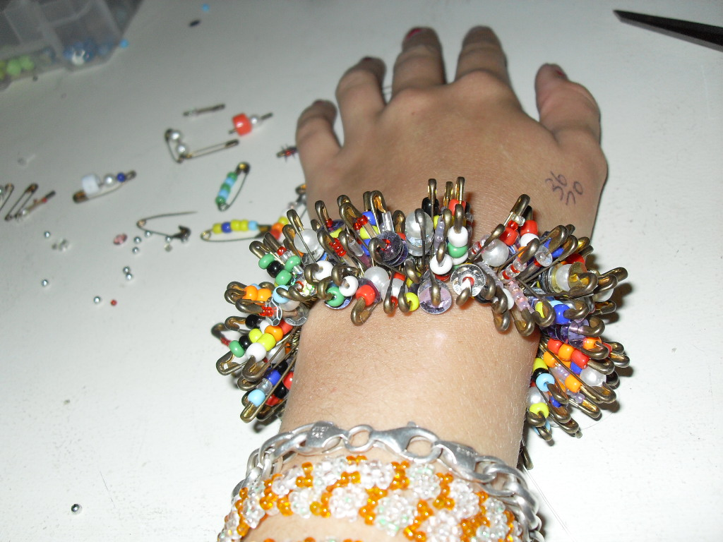 Picture of Safety Pin Bracelet