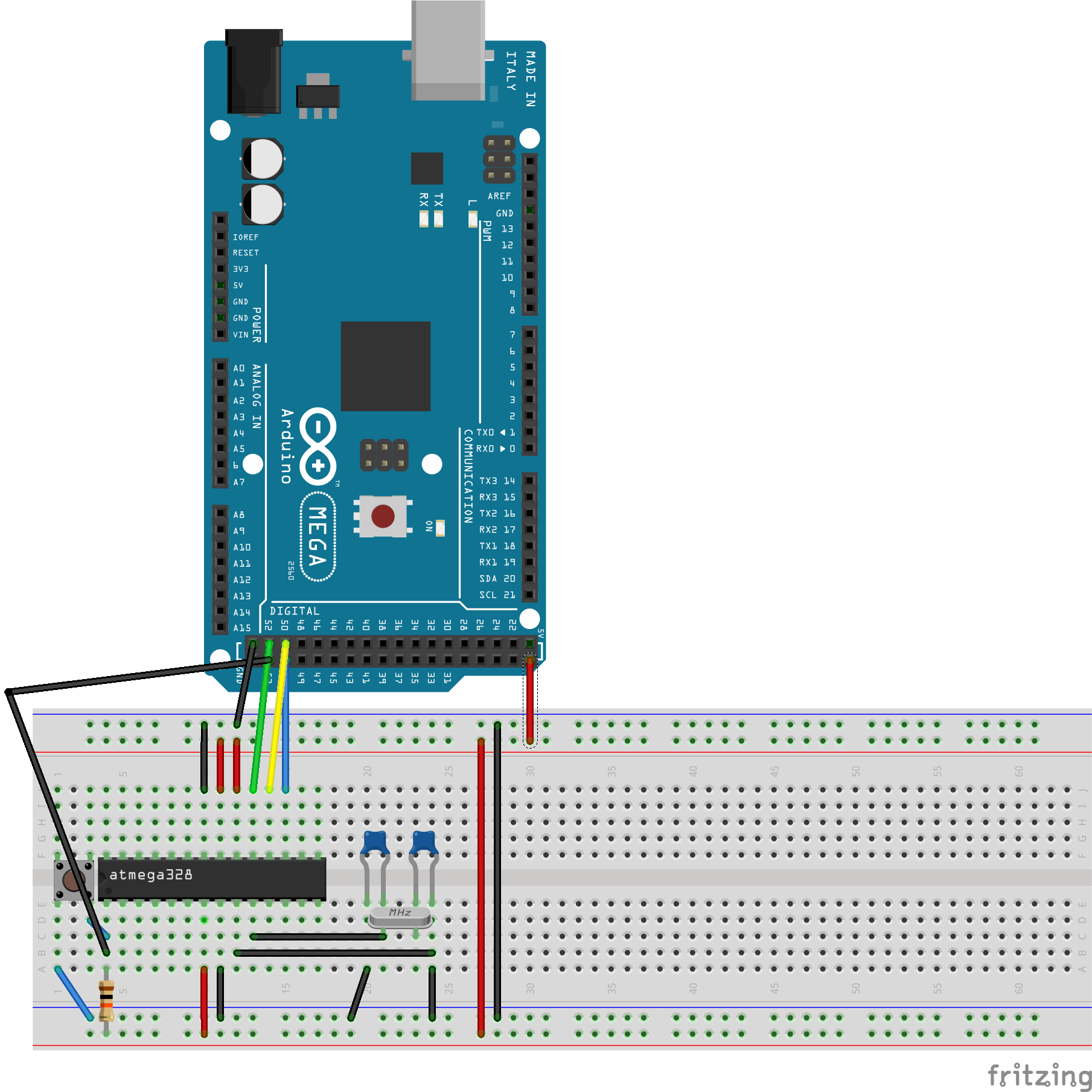 Picture of Program Your Homemade Arduino...