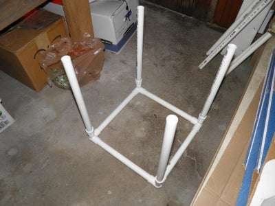 PVC Pipe Lengths and Bottom Frame