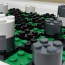 LEGO Mini Checkers Game