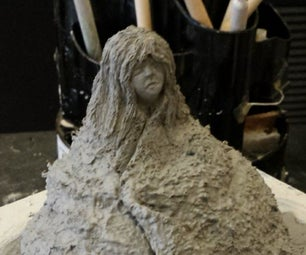 Ceramic Sculpt: Beginner, Cloth Trick