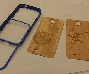Wood Veneer & Aluminium Bumper Phone Case