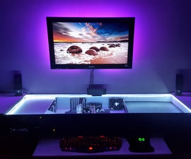 PC Gaming Desk Build