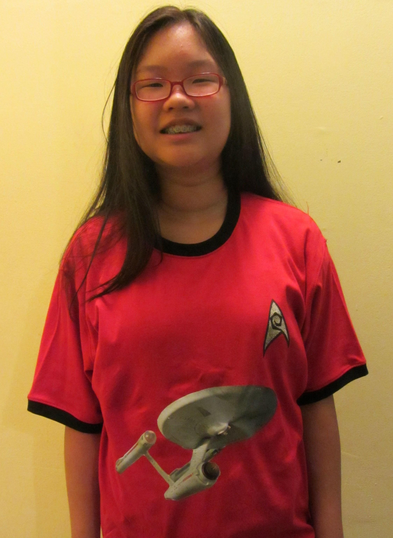 Picture of Star Trek USS Enterprise Phaser Red Shirt
