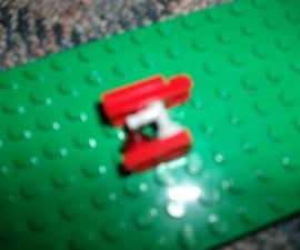 A Lego Brute Plasma Rifle