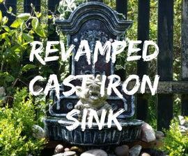 Revamped Cast Iron Sink