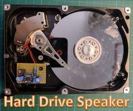 Hard Drive Speaker
