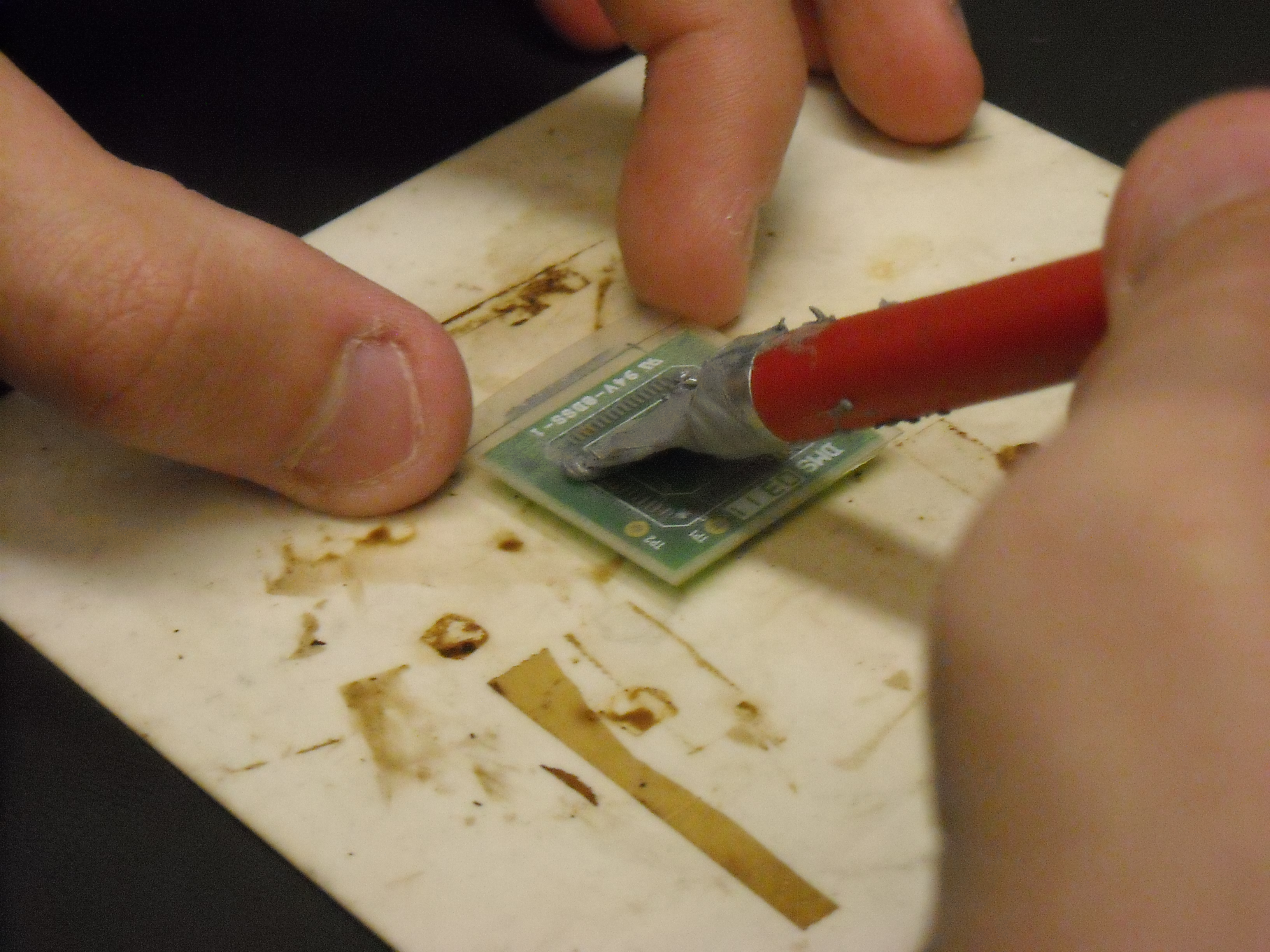 Picture of Apply Solder Paste
