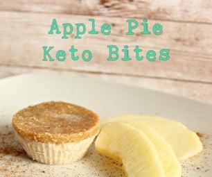 Apple Pie Keto Bite
