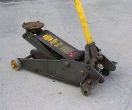 Rebuilding a Hydraulic Floor Jack