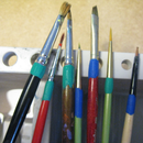 Save Your Paint Brushes - Sugru Brush Hack
