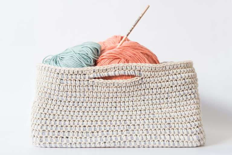 Picture of Crochet a Cotton Basket