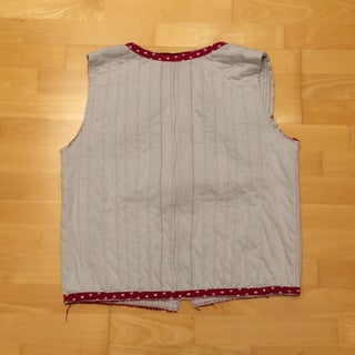 Boro Inspired Vest From Old T-Shirts
