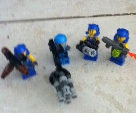 Lego Heavy Weaponary