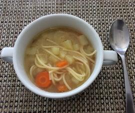 Potato and Spaghetti Soup