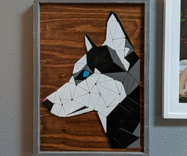 Tessellated Wooden Art